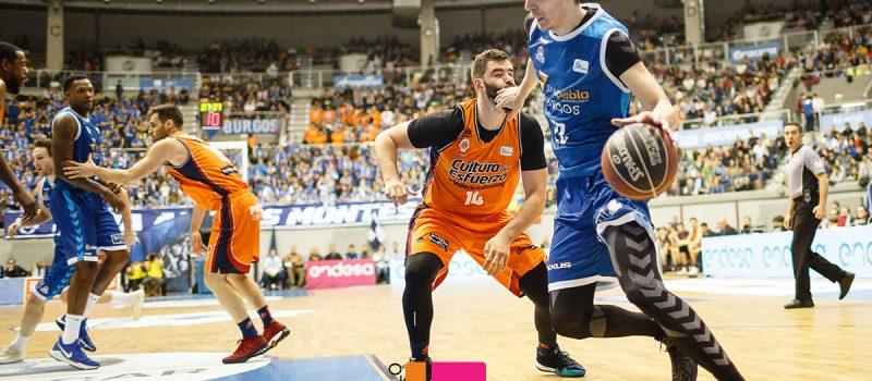 Baloncesto: Burgos – Valencia Basket